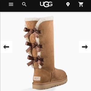 Ugg Bailey tall bow boots